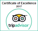 Lymington B&B Trip Advisor Certificate of Excellence